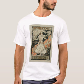Reproduction of a poster advertising 'Joan of Arc' T-Shirt