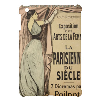 Reproduction of a poster advertising 'La Parisienn iPad Mini Cases