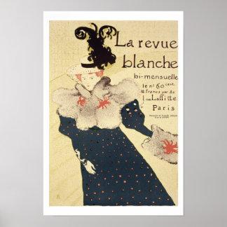 Reproduction of a poster advertising 'La Revue Bla