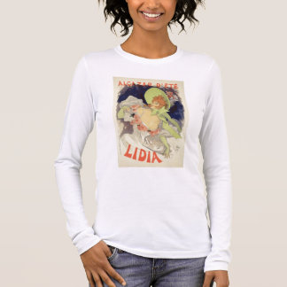 Reproduction of a poster advertising 'Lidia', at t Long Sleeve T-Shirt