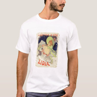 Reproduction of a poster advertising 'Lidia', at t T-Shirt