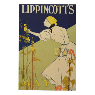 Reproduction of a poster advertising 'Lippincott's Wood Prints