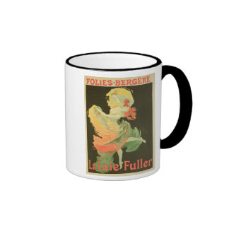 Reproduction of a Poster Advertising 'Loie Fuller' Ringer Mug