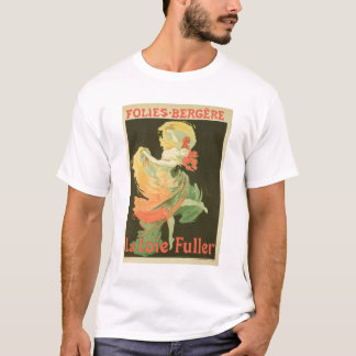 Reproduction of a Poster Advertising 'Loie Fuller' T-Shirt