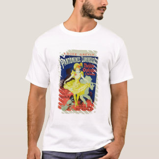Reproduction of a Poster Advertising 'Pantomimes L T-Shirt