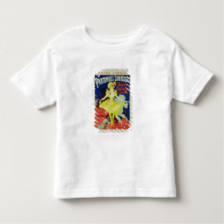Reproduction of a Poster Advertising 'Pantomimes L Toddler T-Shirt