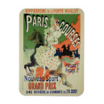 Reproduction of a poster advertising 'Paris Course Magnet