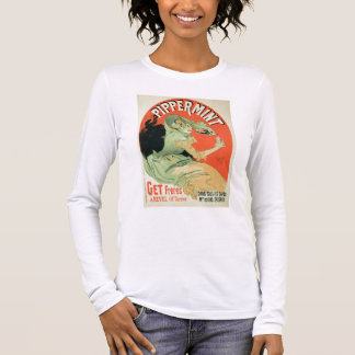 Reproduction of a poster advertising 'Pippermint', Long Sleeve T-Shirt