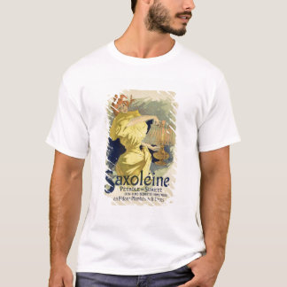 Reproduction of a poster advertising 'Saxoleine', T-Shirt