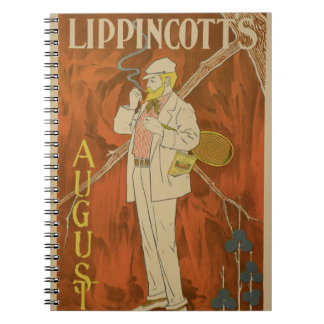 Reproduction of a poster advertising the August Is Notebook