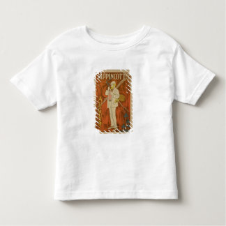 Reproduction of a poster advertising the August Is Toddler T-Shirt