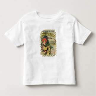 Reproduction of a poster advertising the 'Auvergne Toddler T-Shirt