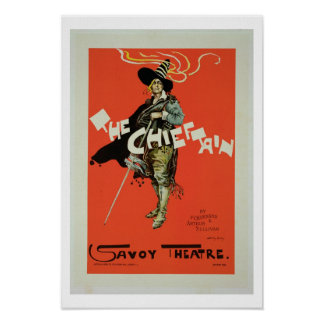 Reproduction of a poster advertising 'The Chieftai