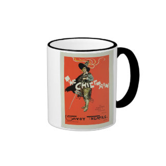 Reproduction of a poster advertising 'The Chieftai Coffee Mug