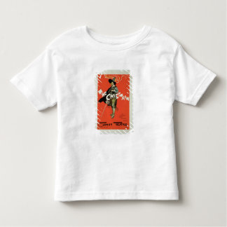 Reproduction of a poster advertising 'The Chieftai Toddler T-Shirt