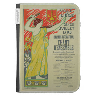 Reproduction of a poster advertising the Concours Kindle Case