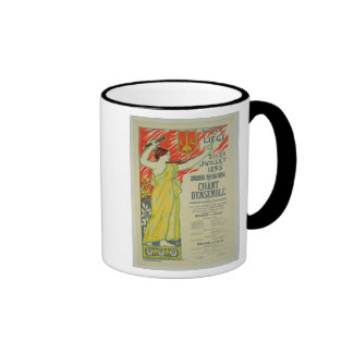 Reproduction of a poster advertising the 'Concours Coffee Mug