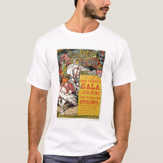 Reproduction of a poster advertising the 'Fetes de T-Shirt