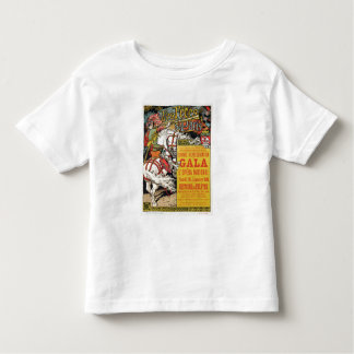 Reproduction of a poster advertising the 'Fetes de Toddler T-Shirt