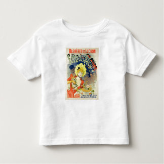 Reproduction of a Poster Advertising the Flower Fe Toddler T-Shirt
