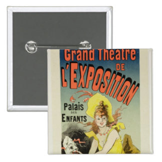 Reproduction of a poster advertising the 'Grand Th 15 Cm Square Badge