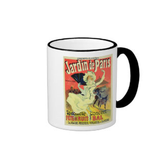 Reproduction of a Poster Advertising the 'Jardin d Coffee Mug