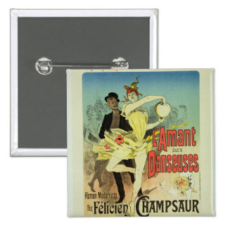 Reproduction of a poster advertising 'The Lover of 15 Cm Square Badge