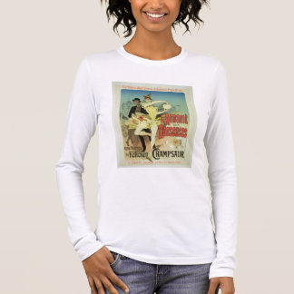 Reproduction of a poster advertising 'The Lover of Long Sleeve T-Shirt