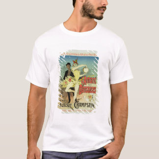 Reproduction of a poster advertising 'The Lover of T-Shirt