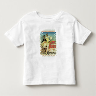 Reproduction of a poster advertising 'The Lover of Toddler T-Shirt