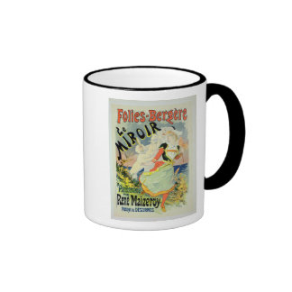 Reproduction of a poster advertising 'The Mirror', Coffee Mugs