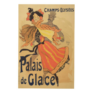 Reproduction of a poster advertising the 'Palais d Wood Prints