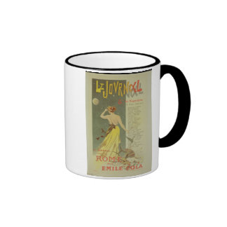 Reproduction of a poster advertising the publicati mugs