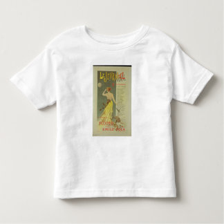 Reproduction of a poster advertising the publicati toddler T-Shirt