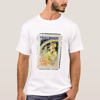 Reproduction of a poster advertising 'The Rainbow' T-Shirt