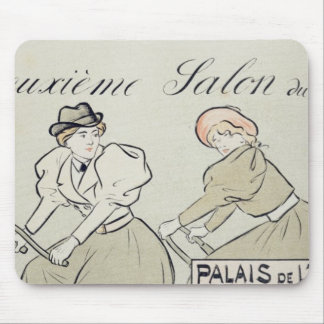 Reproduction of a poster advertising the 'Salon du Mouse Mat