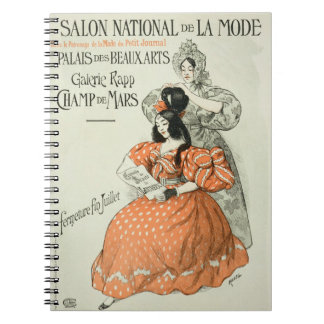 Reproduction of a poster advertising the 'Salon Na Note Book