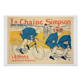 Reproduction of a poster advertising 'The Simpson