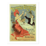 Reproduction of a poster advertising the 'Taverne Post Card