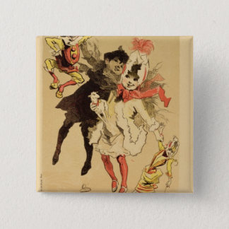 Reproduction of a poster advertising the toyshop ' 15 cm square badge