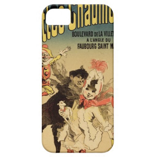 Reproduction of a poster advertising the toyshop ' iPhone 5 case