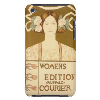 Reproduction of a poster advertising the 'Women's iPod Case-Mate Cases