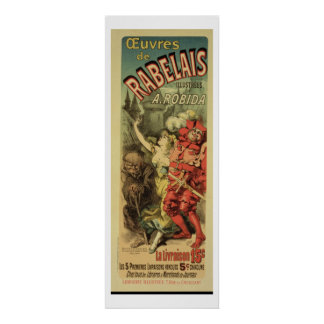 Reproduction of a poster advertising 'The Works of