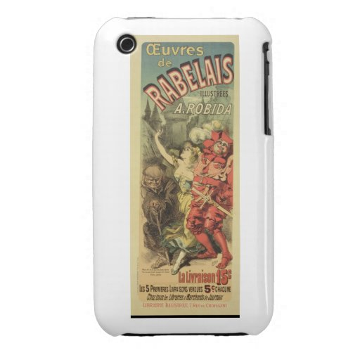 Reproduction of a poster advertising 'The Works of iPhone 3 Covers