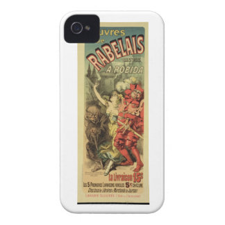 Reproduction of a poster advertising 'The Works of Case-Mate iPhone 4 Case