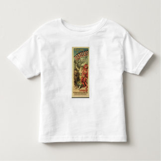 Reproduction of a poster advertising 'The Works of Toddler T-Shirt