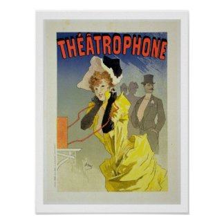 Reproduction of a poster advertising 'Theatrophone