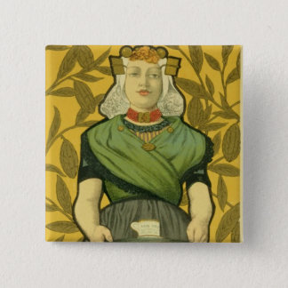 Reproduction of a poster advertising 'Van Houten C 15 Cm Square Badge