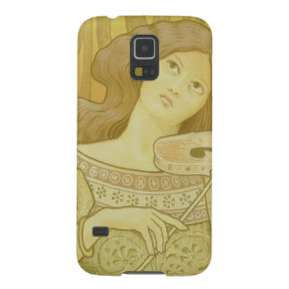 Reproduction of a poster advertising 'Violin Lesso Galaxy S5 Cover