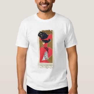 Reproduction of a poster advertising 'Zlata Praha' Tshirt